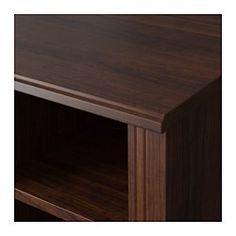 brusali corner desk brown