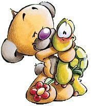 Pimboli and turtle