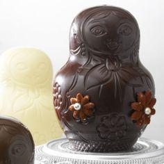 Chocolate Matriochkas @ café pouchkine