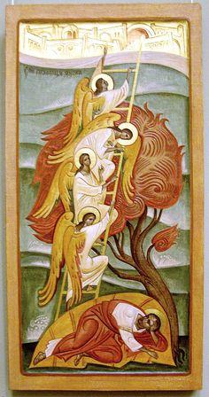 An Icon of Saint Jacob's Ladder: