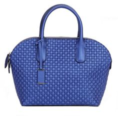 Knurling Pattern Shell-shaped Tote ($155) ❤ liked on Polyvore featuring bags, handbags, tote bags, chicnova, bolso, blue tote handbags, tote handbags, handbags totes, blue purse and handbags tote bags
