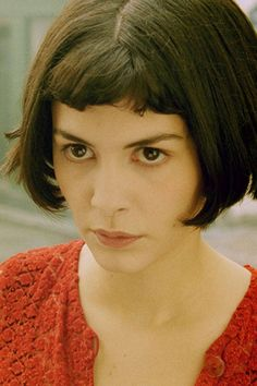In Amélie, Tautou's wide-eyed wonderment was even more palpable thanks to her blunt bangs (documented in this adorable video.) Miramax  - ELLE.com