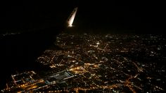 Rome from the air at night 😱😱😱😋