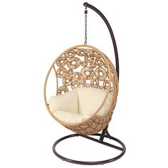Wicker hangstoel met ... - Ibis
