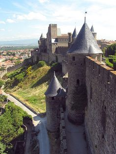Carcasssonne Fortress, France.