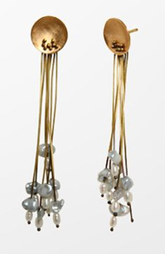 amarantojoies...  want these in silver too.  it's my gray hair ...