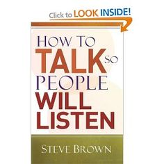 I thought this was just a public speaking how to book but it turned out to be a lot more than that. Steve is a brilliant writer, very humorous and full of stories, which makes the book very easy to read and digest. If it's public speaking presentation tips you're after it definitely has that, but its real value is in the guide on how to handle day-to-day conversations and relating to people in different circumstances - including in arguments. Well worth a read...