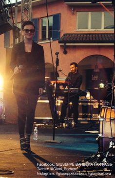 Mantova (1 maggio 2014). @Arisa #GiuseppeBarbera #SeVedoTeTour #Arisa #GnuQuartet