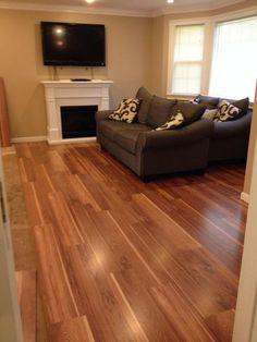 12mm pad riverside hickory dream home lumber for Dream home laminate floor cleaner