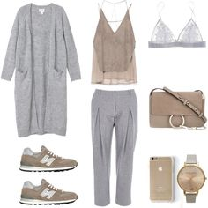 Harmony by fashionlandscape on Polyvore featuring Mode, Monki, Zara, Fleur of England, New Balance, Chloé and Topshop