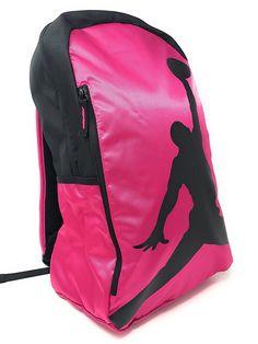 2bdcea2c76 Amazon.com : Nike AIR JORDAN Girl's Backpack ISO Pack (Soar), Active