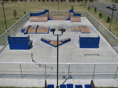 Our free skateboard park that is open from 6am to 11pm.  Lighted for night time skaters. There are bleachers for spectators with restrooms nearby.  BMX bikes and skates are allowed here as well.  The skate park is located in beautiful Carey Park.