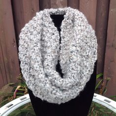 A personal favorite from my Etsy shop https://www.etsy.com/listing/243551665/handmade-knitted-chunky-infinity-cowl