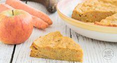 Gesunder Apfel-Karotten-Kuchen ohne Zucker