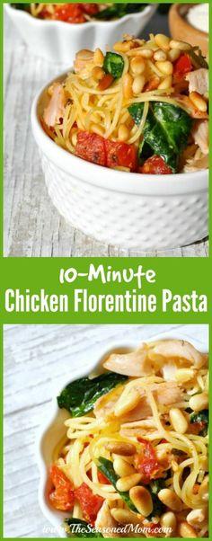 Chicken Florentine P