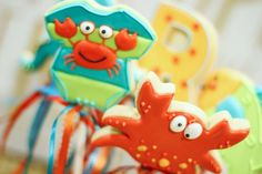 Under The Sea Baby Shower Cookies   Cookies In Color   Shannon Tidwell