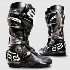 Fox Racing Instinct Boots Dirt Bike Motocross - Black