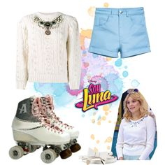 soy luna by maria-cmxiv on Polyvore featuring moda, Gucci, H&M and River Island