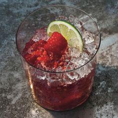 Raspberry-Rose Gin Rickey Recipe