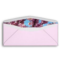 Floral #10 Business Envelope with window