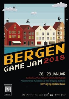Poster showcase 2018 | Global Game Jam® Poster Creator, Folk, Album, Games, Movie Posters, Popular, Film Poster, Forks, Gaming