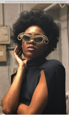 43ca4cb19de7 Emigee Couture Resort 2019 20 by Matthew Graham features Mercura NYC golden  pearl