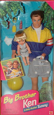 1996 Big Brother Ken & Baby Brother Tommy, BARBIE & FRIENDS NRFB ARCHIVES