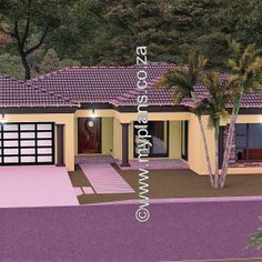 4 Bedroom House Plan MLB-025S – My Building Plans South Africa