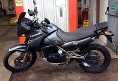 Iain recently purchased this Kawasaki KLE500