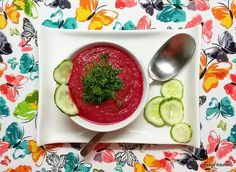 Idealna pogoda na pyszny chłodnik  :)  http://kateskitchen.pl/czerwony-chlodnik-warzywny-idealny-na-upaly/