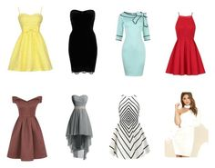 """""""Lovely Women Dresses"""" by die-ammy ❤ liked on Polyvore featuring River Island, Chi Chi, Halston Heritage and LULUS"""