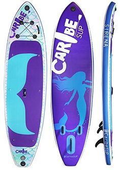 Sirena SUP Best Inflatable Stand Up Paddleboard Combo Purple Mermaid Sup Stand Up Paddle, Sup Paddle, Sup Surf, Inflatable Sup Board, Sup Accessories, Standup Paddle Board, Paddle Boarding, Surfboard, Surfing
