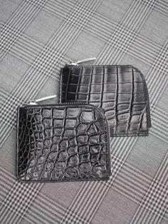 コルウxベラゴ (COLxBellgo)L ジップ ウォレット黒 ナイル クロコダイル 2個限定! コルウxベラゴの特注財布です。黒マットの上質なナイル クロコを使いま…