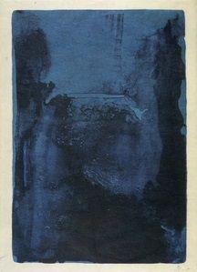 Helen Frankenthaler | Blue