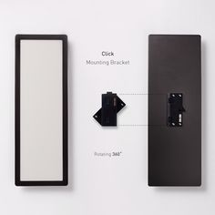 The LG OLED Light aluminium case can be connect to mounting brackets, which allow the light panels to be rotated at 360 degrees. To order an OLED panel, please contact a sales representative at ▶http://goo.gl/IEO2lw www.lgoledlight.com #LG #OLED #rail #connection