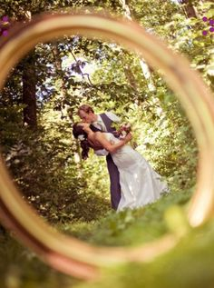 Wedding photo idea - one ring to rule them all...