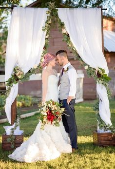 Arizona Rustic Glam Inspired Wedding at Webster Farm