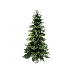 Buy this 7 Ft. New England Medium Artificial Christmas Tree with Pine Cones and other Christmas holiday decorations at Michaels.com.