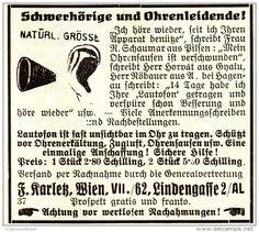 Original-Werbung/ Anzeige 1928 - LAUTOFON FÜR SCHWERHÖRIGE UND OHRENLEIDENDE / KARLETZ - WIEN -ca. 60 x 50 mm