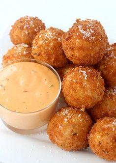 Reuben Fritters @FoodBlogs