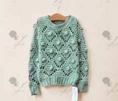 Ravelry: The Bobble Sweater pattern by The Queen Stitch Crochet Shirt, Knit Crochet, Baby Sweaters, Sweaters For Women, Korean Girl Fashion, Knitting Blogs, Knit Fashion, Handmade Clothes, Knit Patterns