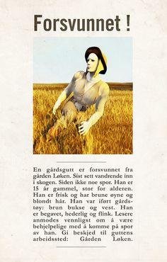 Forsvunnet #Krmm   by Fortellerkunstner.no