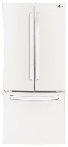 Kitchenaid Refrigerator White kitchenaid - 18.7 cu. ft. bottom-freezer refrigerator - white