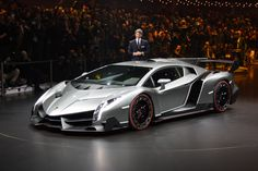 Lamborghini Veneno. Only three will be built, and all are sold.