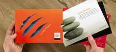 3rock Corporate Brochure - interesting concept for giving flexibility for what content is included.