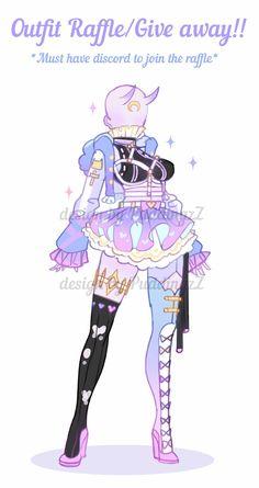 Fantasy Character Design, Character Design Inspiration, Character Art, Anime Girl Dress, Drawing Anime Clothes, Art Inspiration Drawing, Cute Kawaii Drawings, Fashion Design Drawings, Drawing Reference Poses