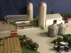 Farm Village, Farm Images, Farm Layout, Train Room, Cattle Farming, Toy Display, Farm Trucks, Farm Toys, Model Train Layouts