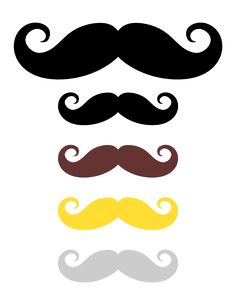 free lip and mustache printables photo booth props interesting