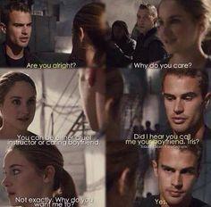 I divergent insurgent allegiant Divergent Memes, Divergent Hunger Games, Divergent Fandom, Divergent Trilogy, Divergent Insurgent Allegiant, Insurgent Quotes, Tfios, Tris Und Four, Tris Et Tobias