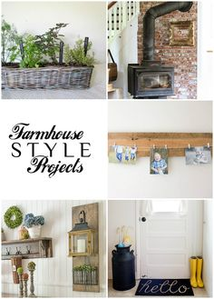 Obsessed with the hit TV show, Fixer Upper? Farmhouse style decor is all the rage right now! Luckily, some of my favorite home decor bloggers are showcasing their rustic farm style at this week's link party. Peruse, pin, and link up!